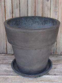 観葉植物 植木鉢 マットブラック 尺鉢可